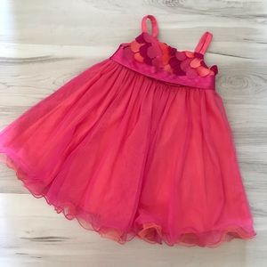 💞 Iris & Ivy Toddler Mesh Ballerina Dress